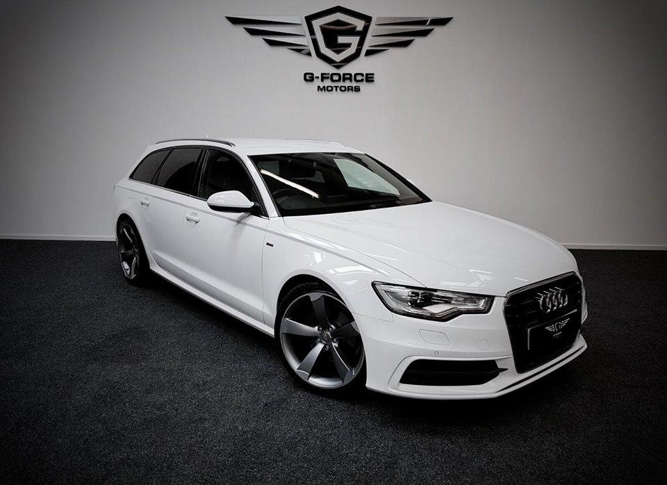 2014 Audi A6 2.0tdi S Line Estate Multitronic White ...